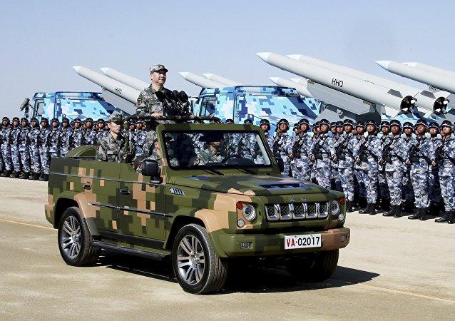 中国成为世界136个国家中军事实力排行第三的国家