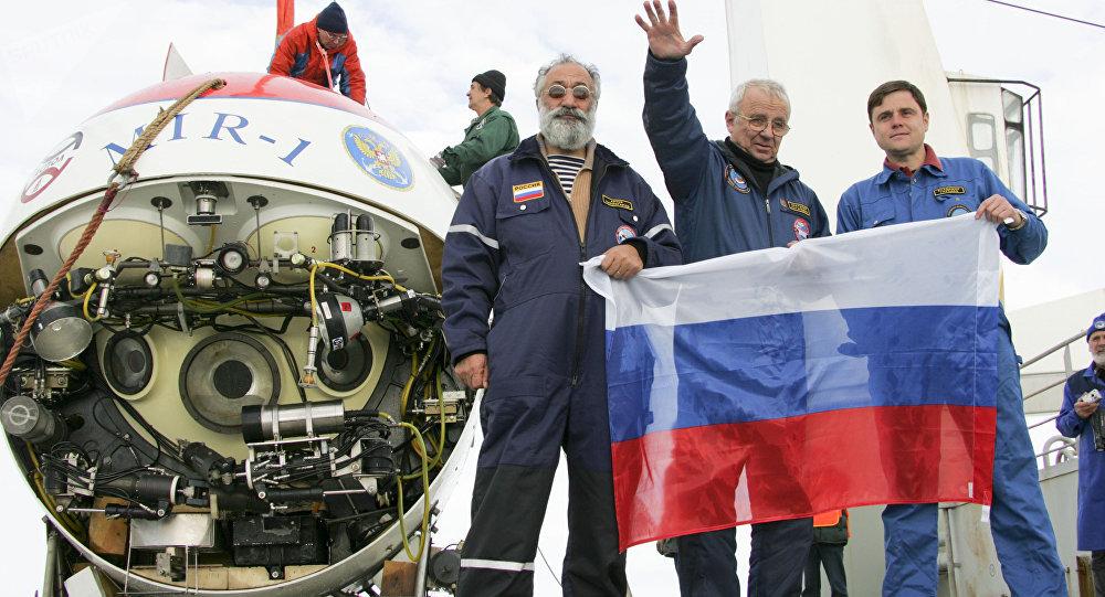 """俄罗斯""""和平1号""""深潜器"""