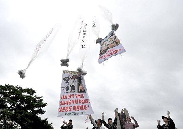 韩国总统欲停止向朝鲜境内投放传单