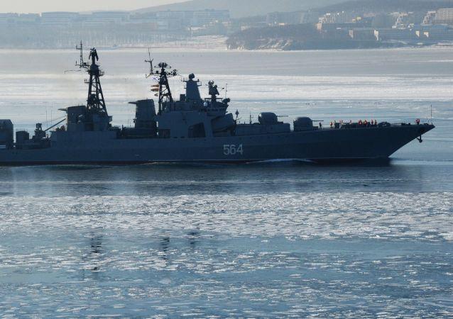 俄太平洋舰队舰艇