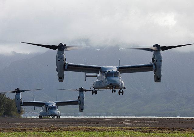 美军一架倾转旋翼机在澳大利亚附近坠毁,机上26人中已有23人获救