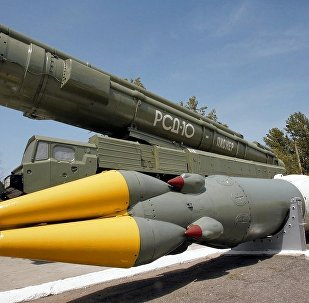 美國研發中程導彈的決定違反中導條約