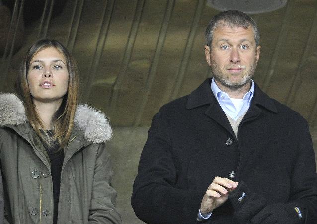 罗曼·阿布拉莫维奇和达丽娅·朱可娃分手