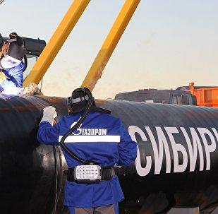 「西伯利亞力量」天然氣管道
