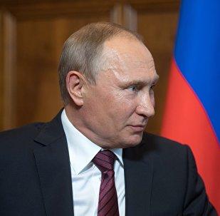 普京希望十月革命百年成为克服社会分裂的象征