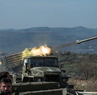 """叙政府军已从""""伊斯兰国""""手中解放苏韦达省100平方千米的区域"""