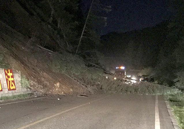 2017年8月8日,四川阿坝州发生6.5级地震