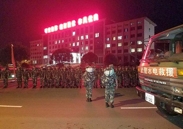 中国警察(2017年8月8日,四川省)