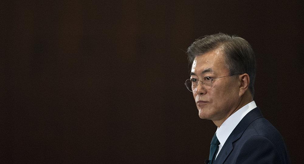 文在寅抵京开始对中国进行国事访问