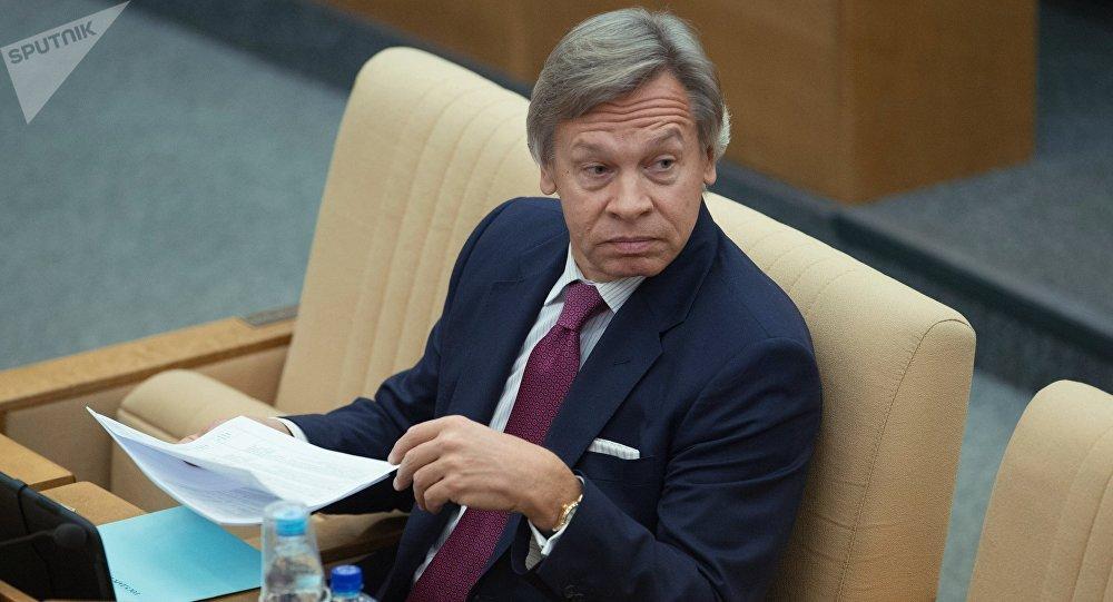 俄罗斯参议员阿列克谢·普什科夫