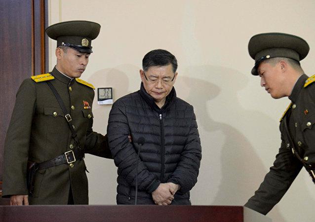 媒体:朝鲜政府释放被判终身监禁的加拿大牧师