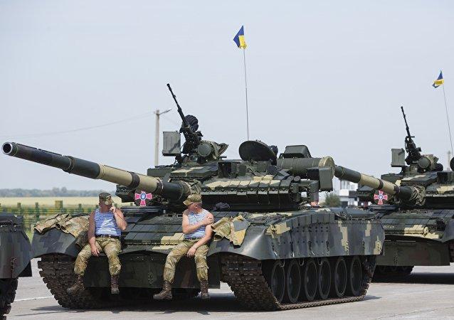 乌克兰士兵