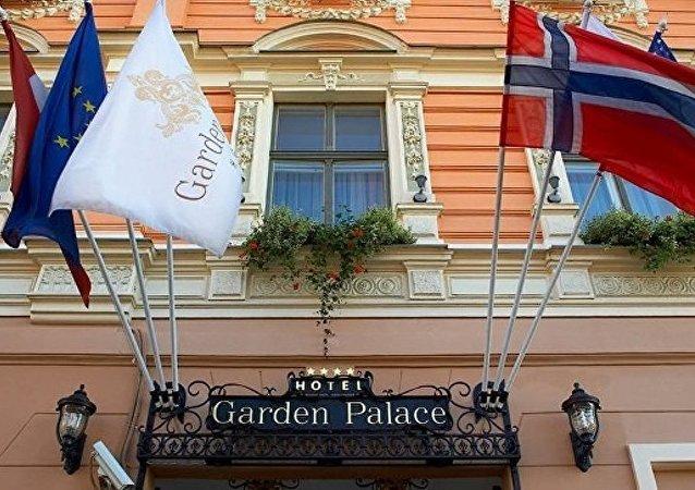 俄大使馆:里加市中心宾馆被占领事件中没有俄公民受伤