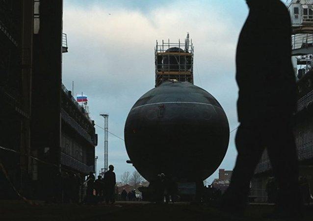 """俄海军2020年或列装最先进的""""喀琅施塔得""""号潜艇"""