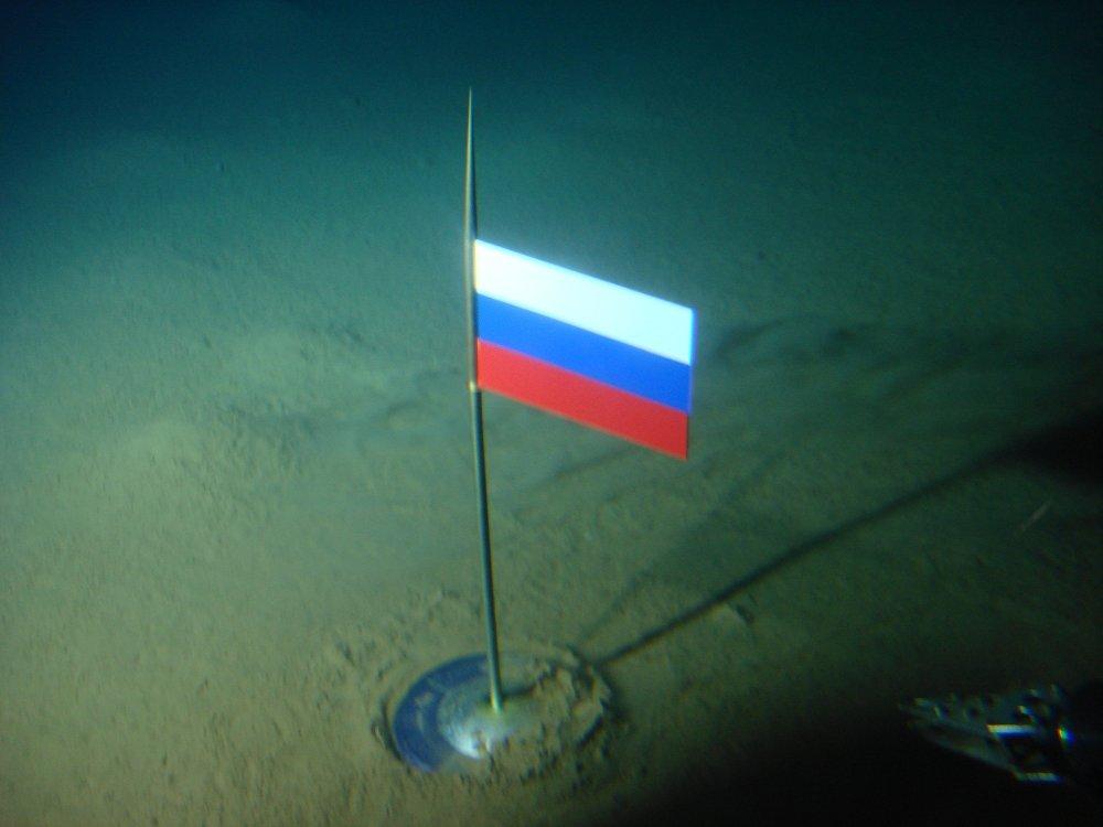 西方国家对俄罗斯在北极海底插旗相当过敏