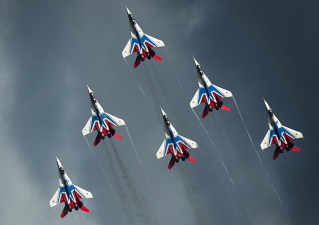 空中之盾:俄罗斯空军成立105周年