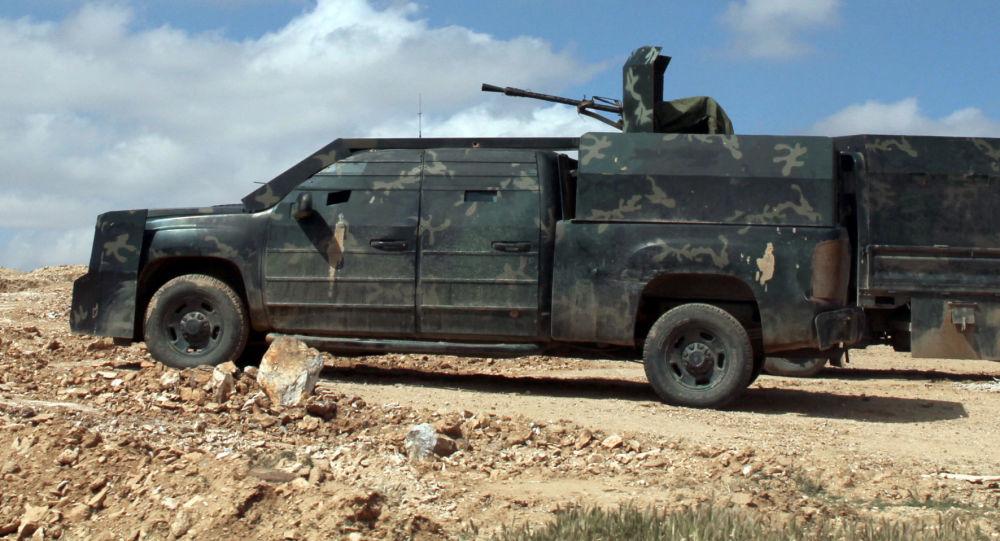 敘利亞軍人在拉卡省「伊斯蘭國」的後方空降,解放了一些定居點