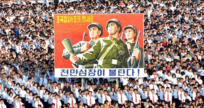 """平壤准备""""以任何手段""""反击联合国安理会制裁决议"""