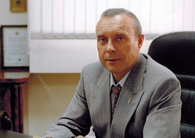 """俄罗斯""""阿尔法""""反恐部队国际退伍军人协会主席谢尔盖·贡恰罗夫"""