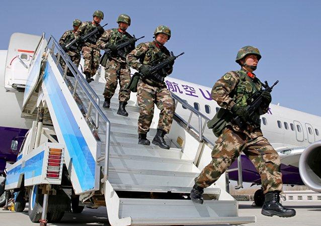 新疆对极端主义加大打击力度