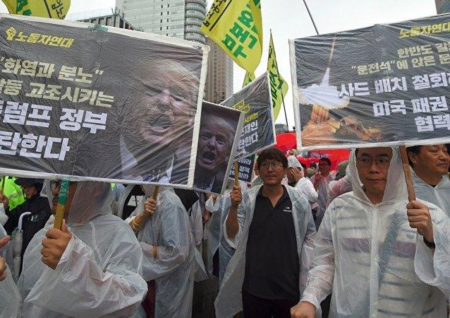 俄专家:韩朝统一将可能花费10万亿美元