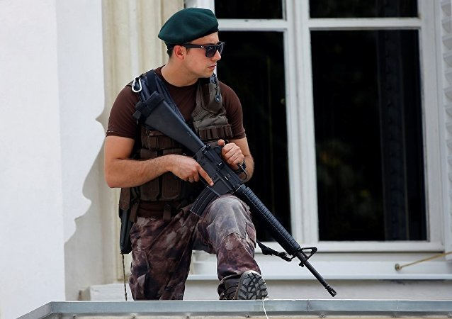 外媒:身份不明男子在伊斯坦布尔房顶上开枪射击