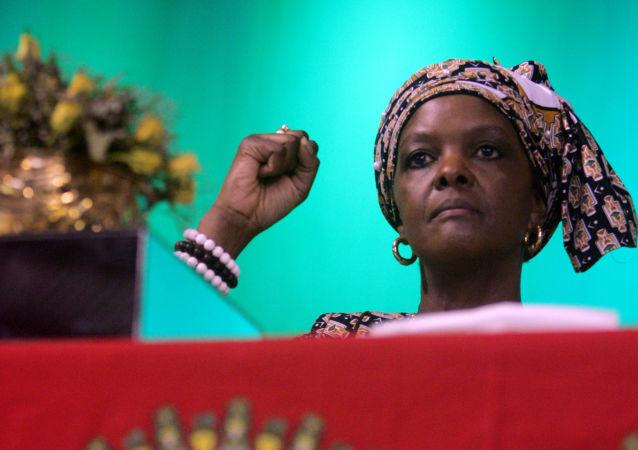 津巴布韦总统夫人格雷斯•穆加贝