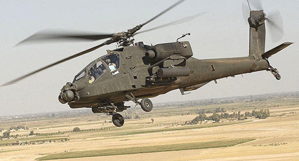 媒体:印度政府批准购买6架美制阿帕奇攻击直升机