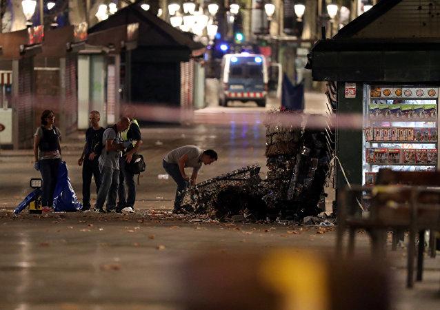 加泰罗尼亚警方:巴塞罗那驾车撞行人的袭击行为由一人实施