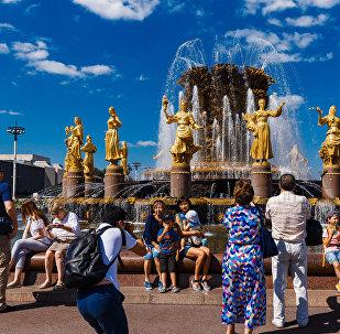 全俄展覽中心受中國遊客青睞