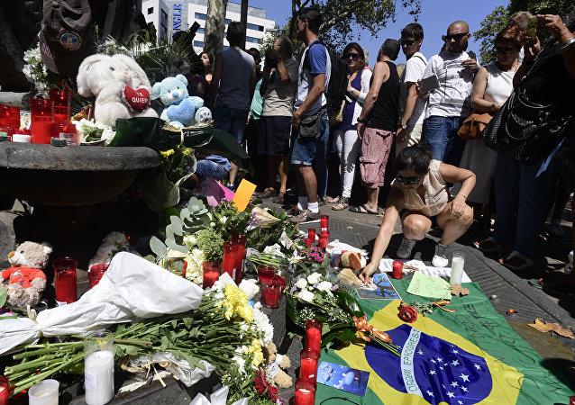西班牙恐袭受害者来自34个国家和地区