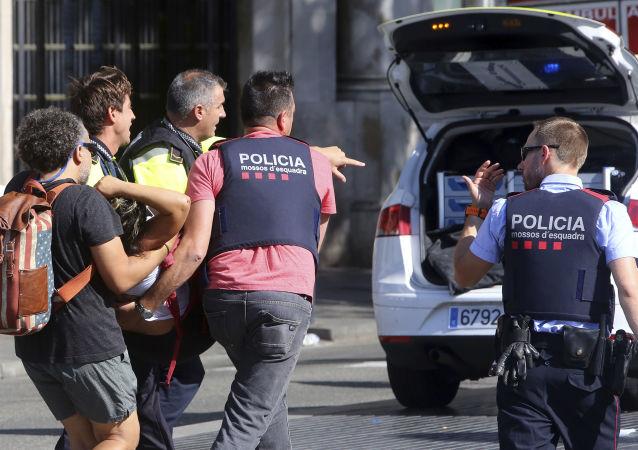 巴塞罗那恐袭事件
