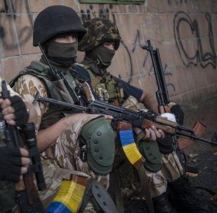 乌国民警卫队成立戒酒连队