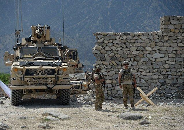 美国保持在阿富汗的存在旨在影响俄中