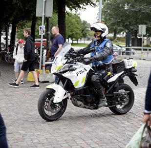 芬蘭圖爾庫市的警察