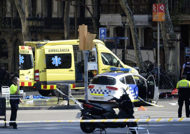 巴塞罗那恐怖袭击事件