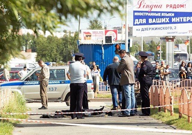 俄警方正在检查苏尔古特袭击者的精神状况资料