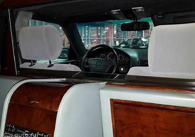 叶利钦豪车卖价33.4万美元