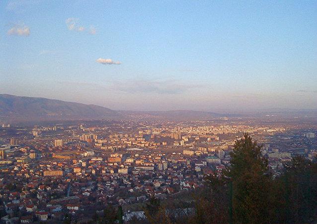 北马其顿首都斯科普里