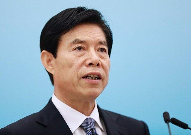 中国商务部长钟山