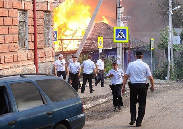 俄紧急情况部已制定向罗斯托夫火灾受害者提供经济援助的草案