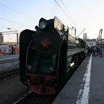 15個國家的遊客乘坐俄羅斯帝國號列車從莫斯科前往北京