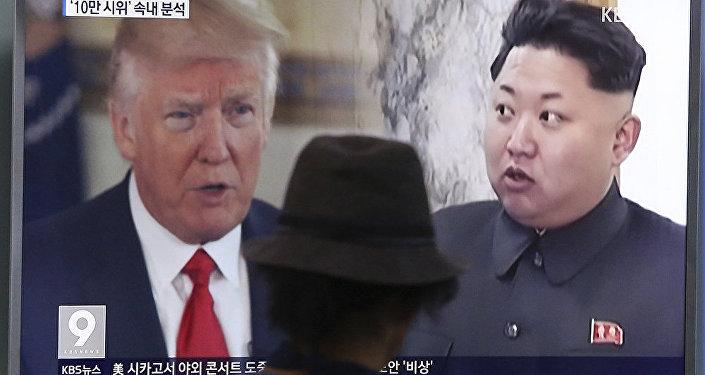 特朗普:美國或與同朝鮮有「商業往來」的國家停止貿易