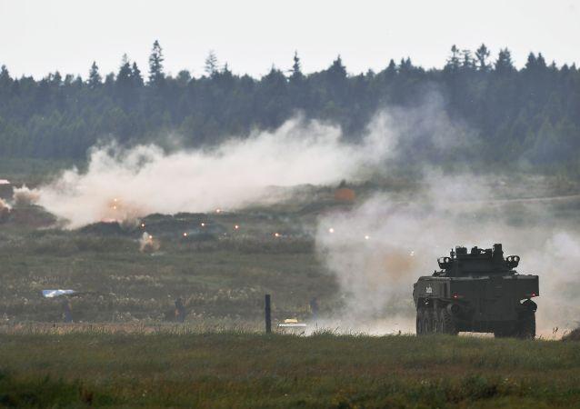 专家:装备125毫米火炮的俄轮式坦克举世无双