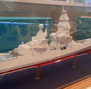 """""""领袖""""级驱逐舰的模型"""