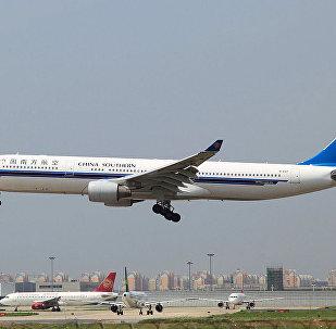 中国南方航空公司的空客330-300客机
