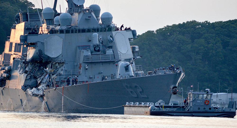 专家:不战而摧毁美国海军第七舰队