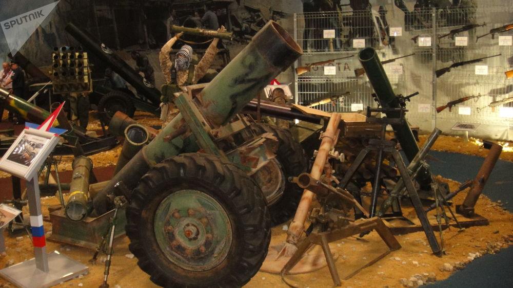 叙利亚武装分子的武器
