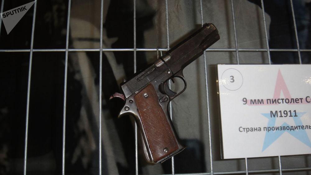 9毫米柯尔特m1911式手枪(美国)