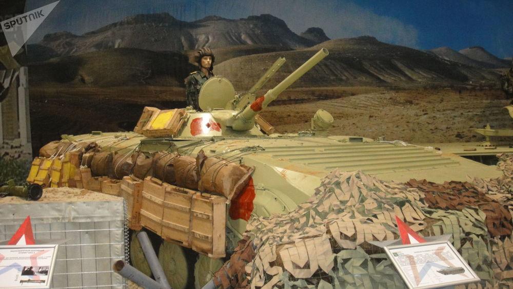 叙军BMP-1步兵战车